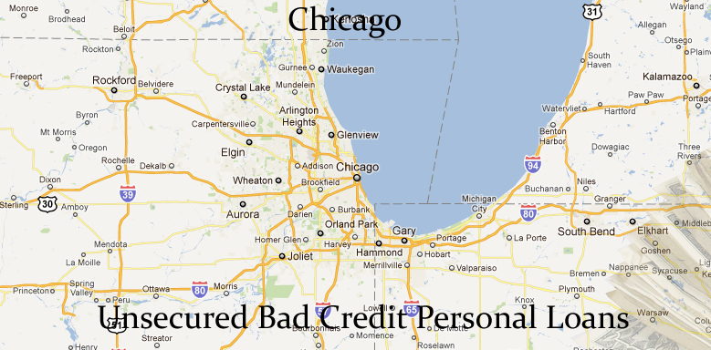 1K-$10K Unsecured Personal Signature Loans – Bad Credit in Chicago ...