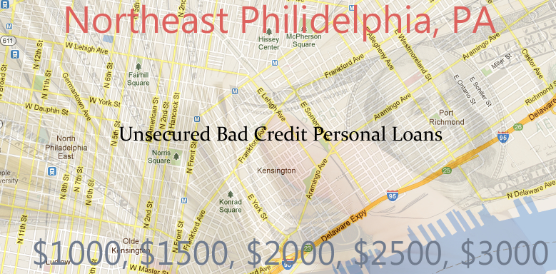 unsecured personal loans northeast philidelphia $1K $10K Unsecured Personal Signature Loans   Bad Credit in Philadelphia, Pa