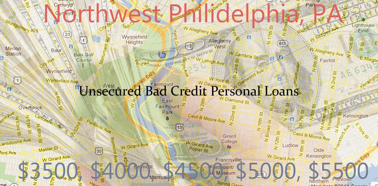 unsecured personal loans northwest philidelphia $1K $10K Unsecured Personal Signature Loans   Bad Credit in Philadelphia, Pa