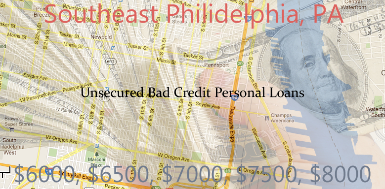unsecured personal loans southeast philidelphia $1K $10K Unsecured Personal Signature Loans   Bad Credit in Philadelphia, Pa